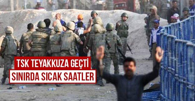 TSK Teyakkuza geçti sınırda sıcak saatler