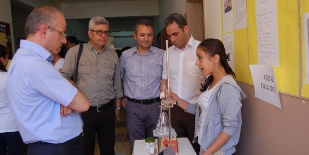 Tübitak Bilim Fuarı Eyüp Aygar'da