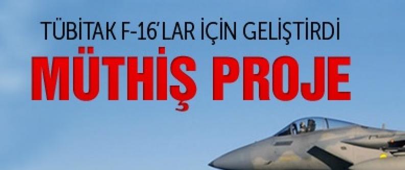 TÜBİTAK'tan F-16'lara müthiş proje
