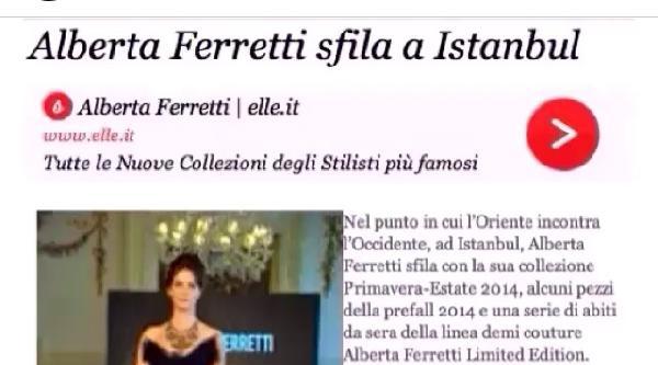 Tülin Şahin İtalyan Basınında