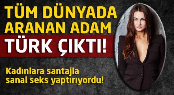 Tüm dünyada aranan adam Türk çıktı!