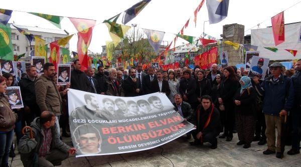 Tunceli'de Berkin Elvan Protestosu