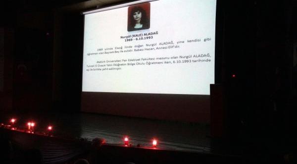 Tunceli'de Buruk Öğretmenler Günü Kutlamasi