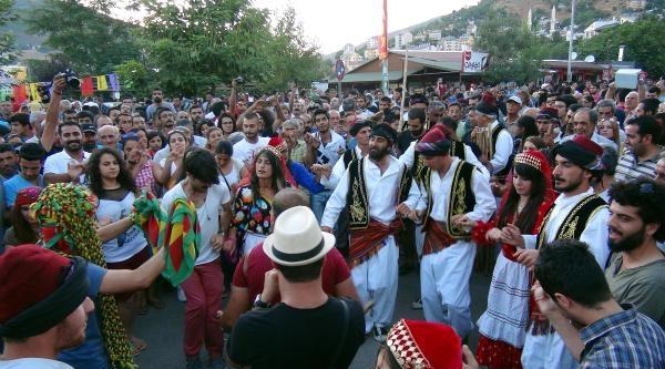Tunceli'de Festival Coşkusu