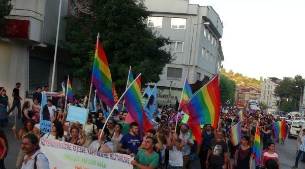 Tunceli'de Lbgti Yürüyüşü