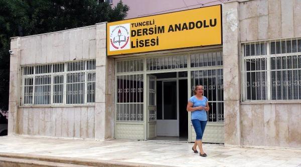 Tunceli'de Liseye 'dersim' Adı Verildi