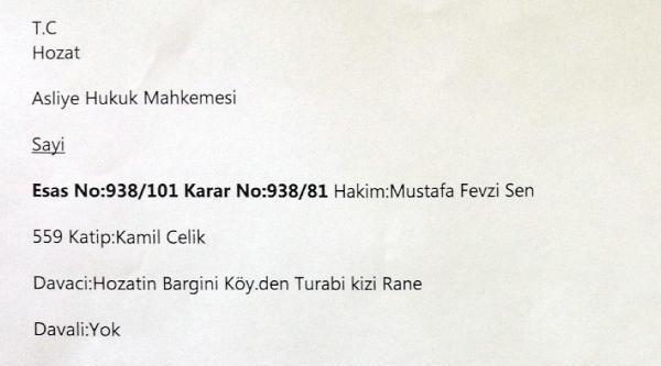 Tunceli'de Maheme 1938'de 24 Kişinin Kurşuna Dizilerek Öldürüldüğünü Tespit Etmiş