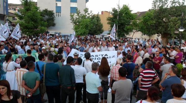 Tunceli'de Sivas Anması
