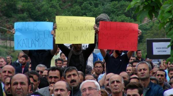 Tunceli'de Soma Protestosu (2)