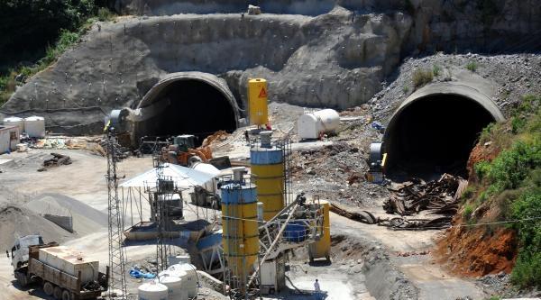 Tünel İnşaatina Kömür Engeli