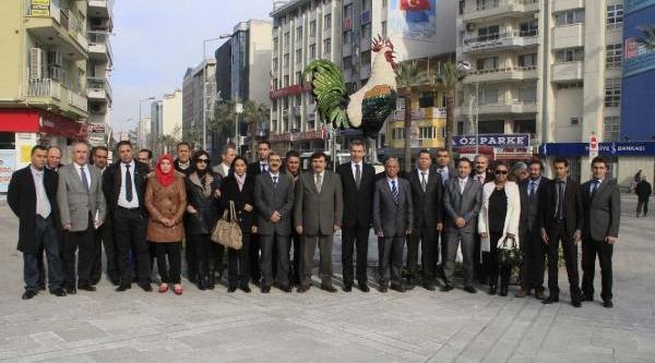 Tunuslu Heyet Belediyeyi Ziyaret Etti