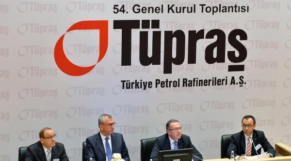 Tüpraş Hissedarlarına 2013 Kazancından 396 Milyon Tl Brüt Temettü Dağıtacak