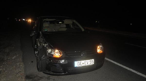 Turgutlu'da Trafik Kazası: 1 Ölü, 1 Yaralı