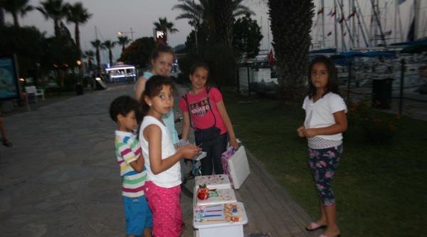 Turistik Yörelerin 'yaz Esnafı' Çocuklari