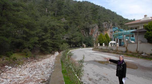 Turizm Cenneti Osmaniye Köyü'nde Maden Ocağı Tepkisi