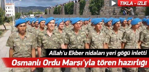 Türk askerinin  Allah-u Ekber nidaları yeri göğü inletti! -İZLE