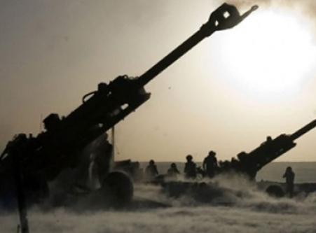 Türk askerinden Suriye'ye top atışı...