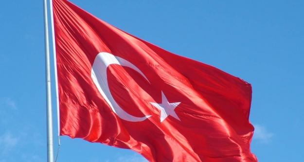 Türk bayrağını indirip yakan yakalandı!