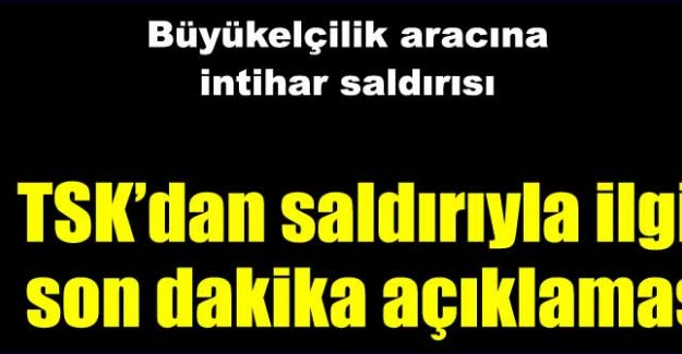 Türk Büyükelçiliği'ne saldırı!