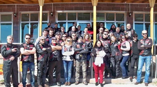 Türk Chopper Motosiklet Grubu Çanakkale'ye Gidiyor