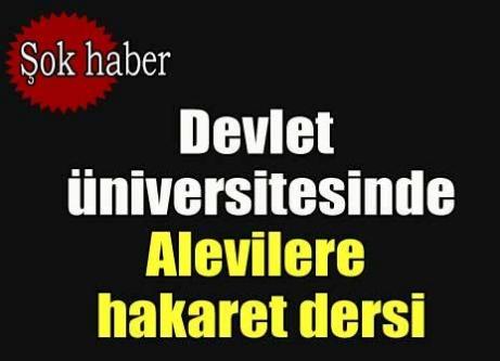 Türk dili kitabında Aleviler için şok sözler