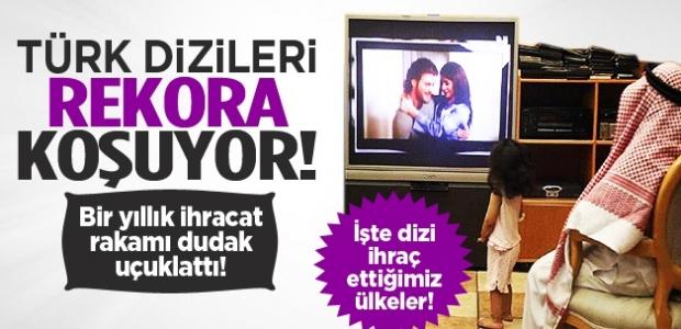 Türk dizileri rekora koşuyor! 1 yıllık ihracat rakamı dudak uçuklattı!