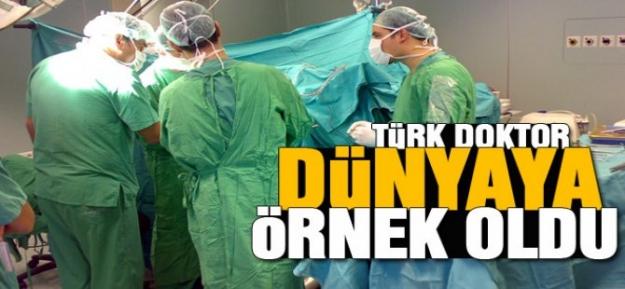 Türk doktor tıp literatürüne geçti!