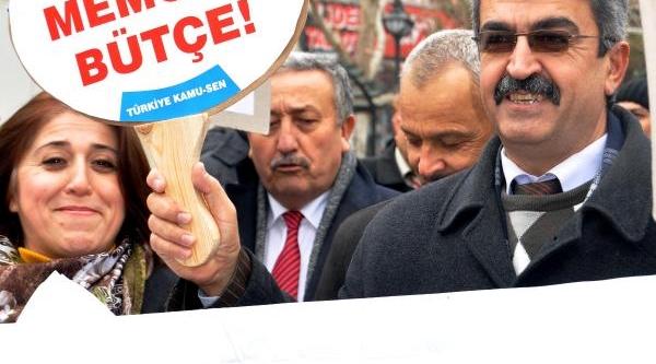 Türk Eğitim-Sen'den Bordro Yakma Eylemi