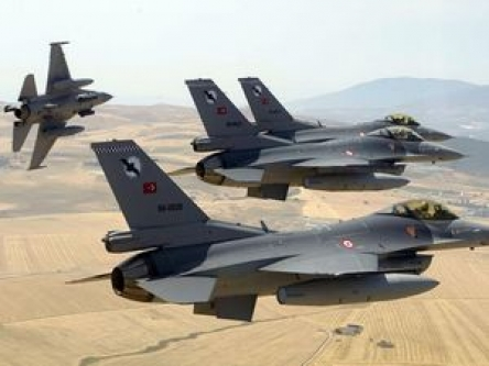 Türk F-16'lara Suriye'den füze tacizi!