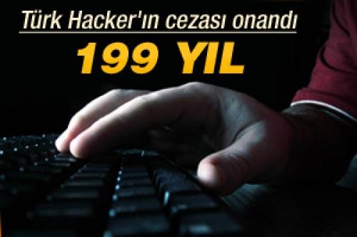 Türk Hacker'a 199 yıl hapis cezası!