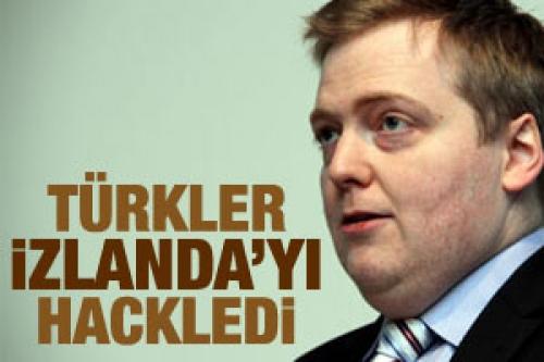 Türk hackerlar İzlanda'yı hackledi!