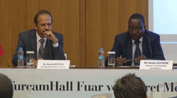 Türk İhracatçisina Afrika Kapısı Kamerun'dan Açılacak