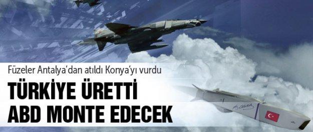 Türk işi füzeler kendine hayran bıraktı