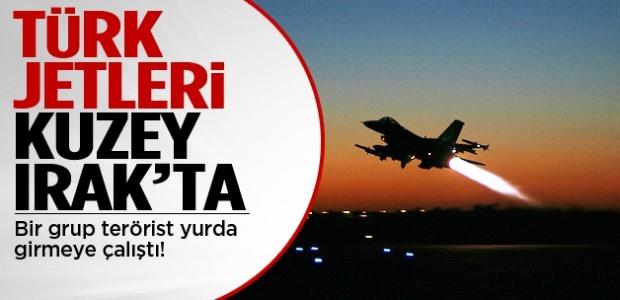 Türk  Jetleri Kuzey Irak'ta!