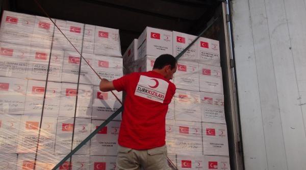 Türk Kızılayı'ndan Bosna'ya Yardım Eli