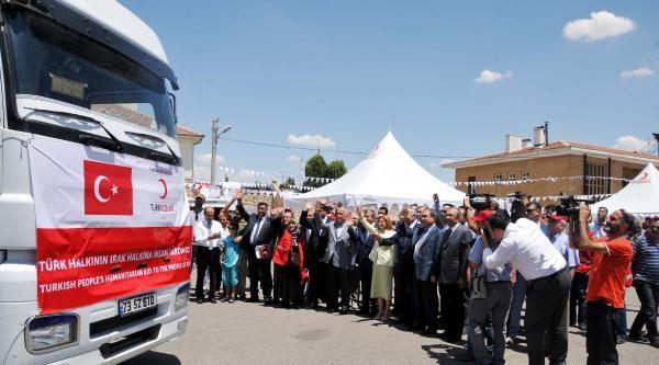Türk Kızılayı'ndan Irak'taki Türkmenlere Yardım