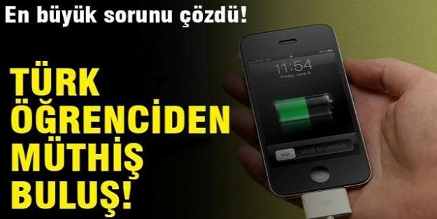 Türk öğrenciden müthiş buluş! En büyük sorunu çözdü....