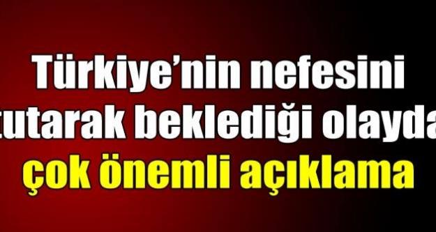 Türk rehinelerle ilgili flaş açıklama