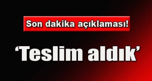 Türk şoförleri Erbil konsolosu teslim aldı