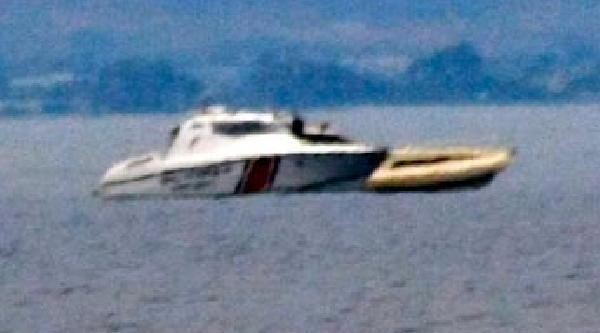 Türk Teknesine Yunan Sahil Güvenlik Botu Tacizi İddiasi