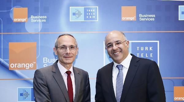 Türk Telekom İletişim Devi Orange İle Anlaştı
