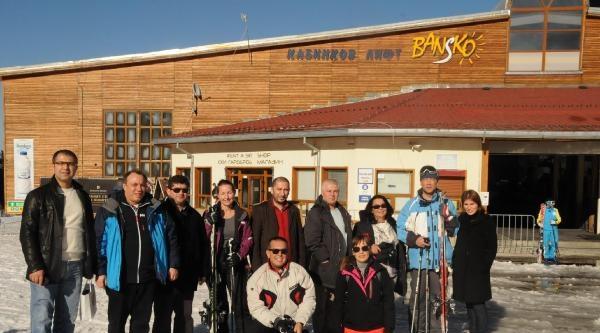 Türk Turizmcilerinden Komşudaki Kış Turizm Merkezi Bansko'ya Çikarma
