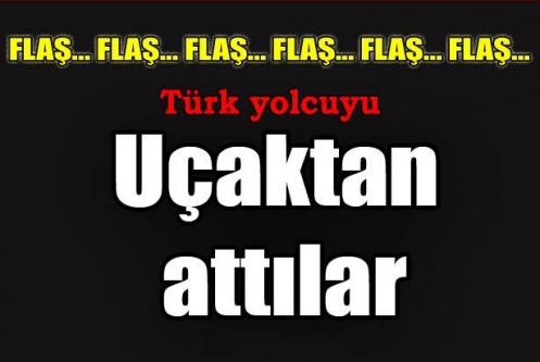 Türk yolcuya Fransız ayıbı
