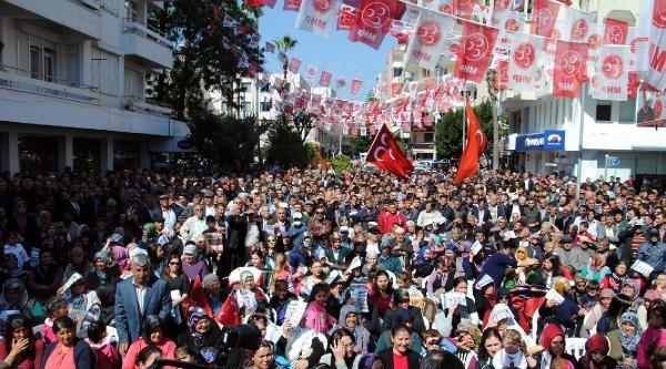 Türkeş: Akp'nin Türk Bayrağı İle İşi Olmaz (2)