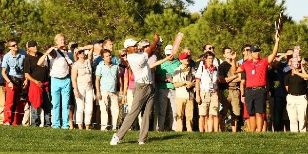 Turkish Airlines Open'da Tiger Woods Eksik Parkuru Tamamladi (2)