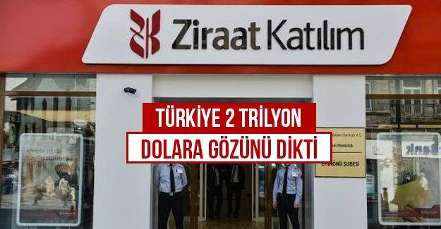 Türkiye 2 Trilyon dolara gözünü dikti...