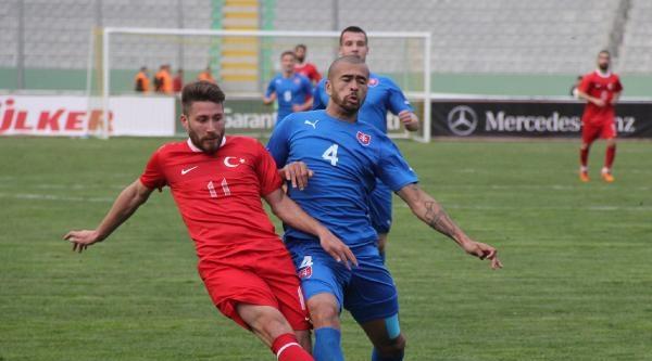 Türkıye A-2 - Slovakya:  4-4
