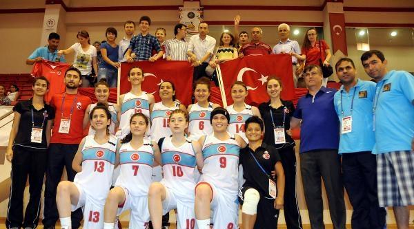 Türkiye Bayan Milli Takımı Finale Kaldı