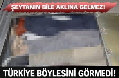 Türkiye böylesini görmedi! Şeytanın aklına bile gelmez!