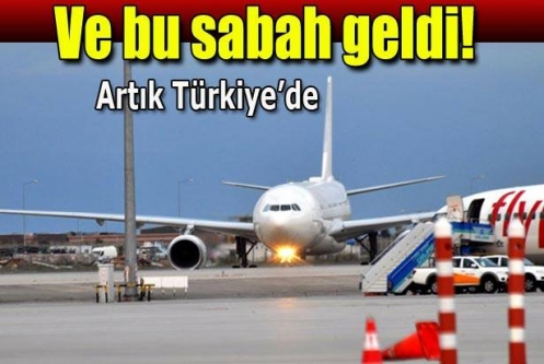 Türkiye Cumhuriyeti'nin yeni uçağı geldi